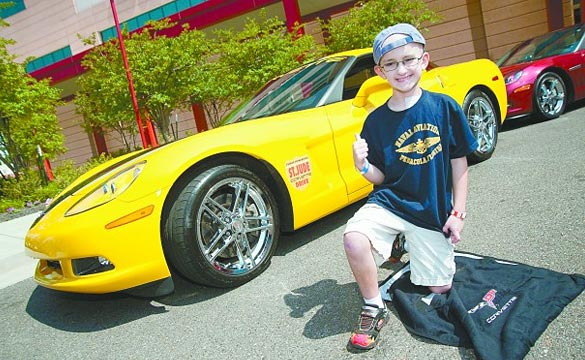 Quad City Corvettes Raise Money for St. Jude Children's Hospital