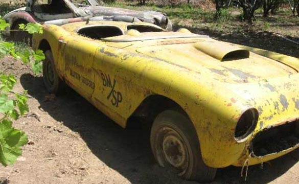 Mystery continues to surround this 1957 Corvette drag car that was