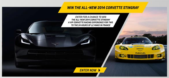 The Race to Win Corvette Sweepstakes is Back!