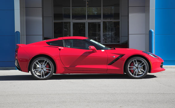 Win This 2014 Corvette Stingray!